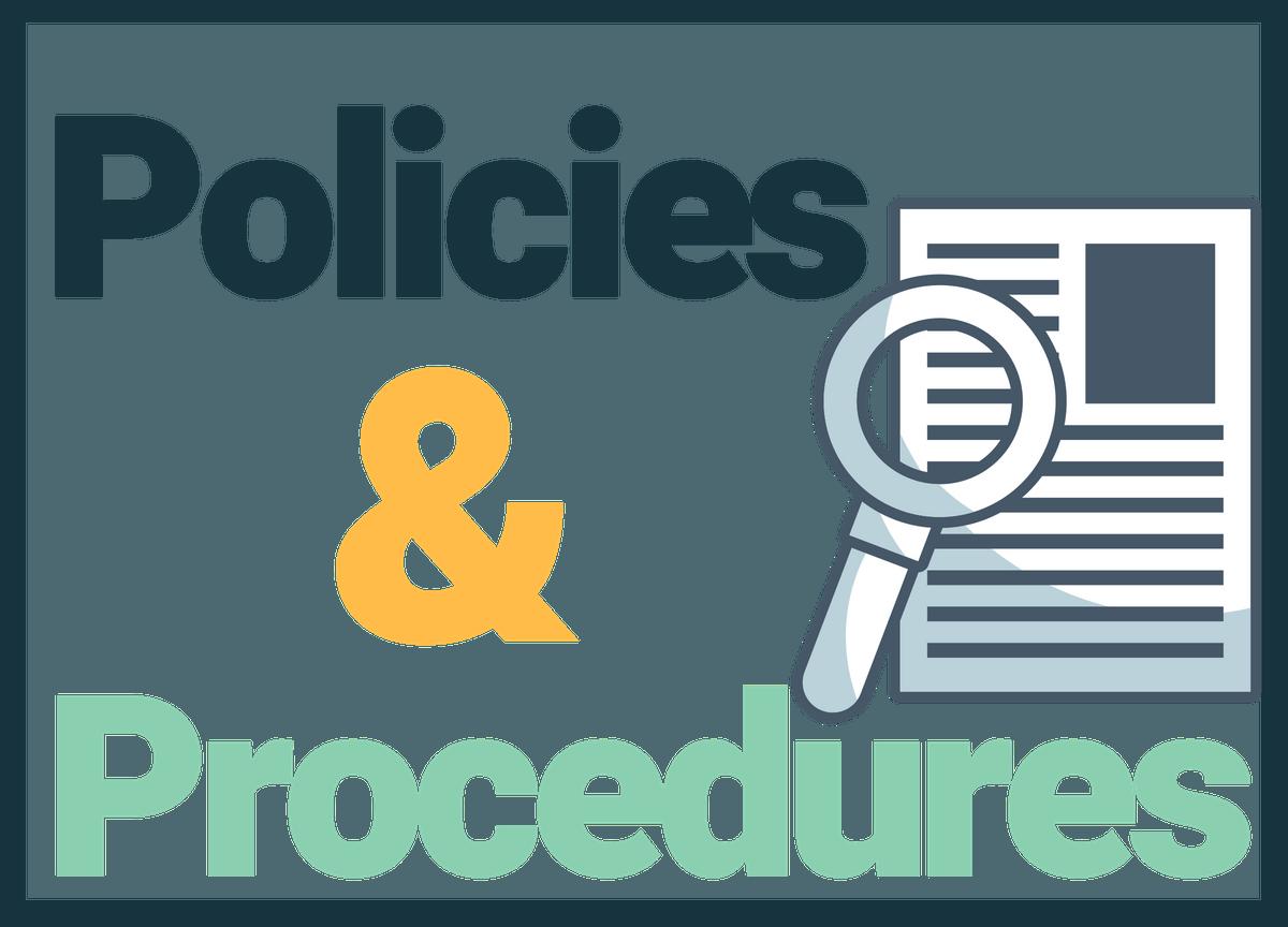 policies and procedures thumbnail – StudanceLAB com | The